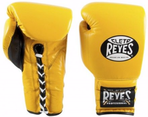 Cleto Reyes Lace Sparring Gloves - Yellow